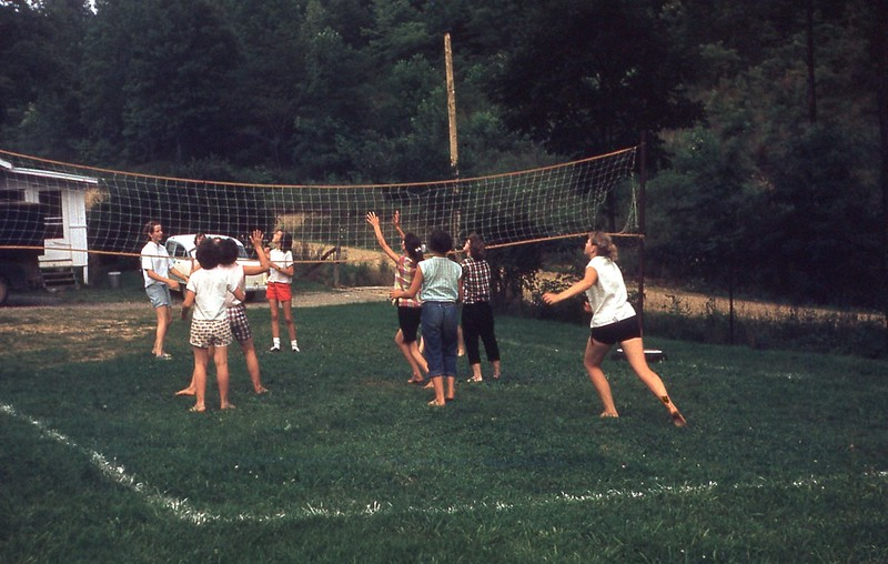 1958 Camp Volleyball