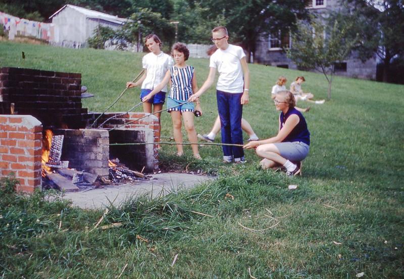 1958 Camp picnic
