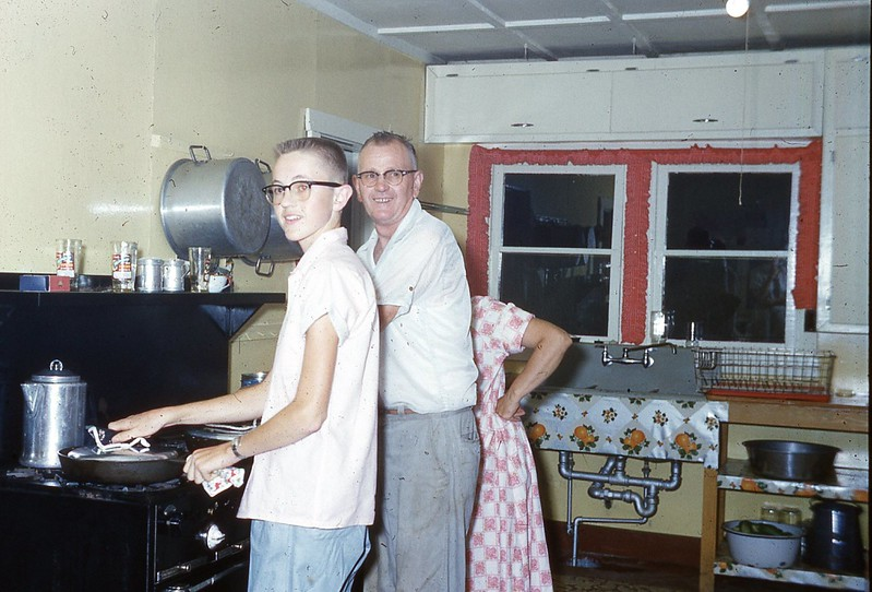 1958 John and Mr  Anderson
