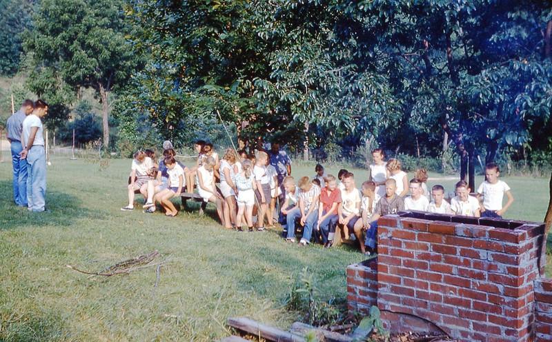 1958 Jr  Camp picnic