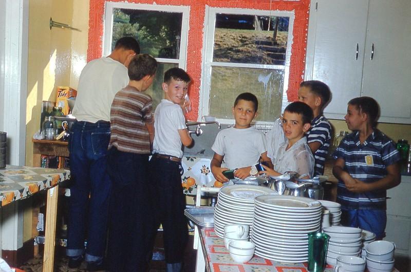 1958 Dish Washing Boys Jr