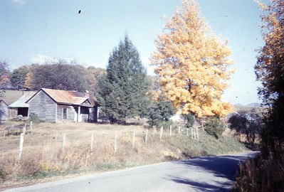 1959 - Autumn on way to Jonesville