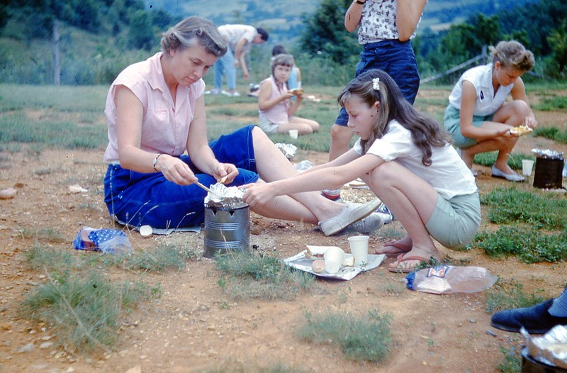 1960 - Jr  Camp Ho-bo Breakfast