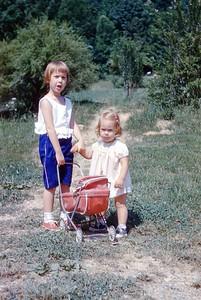 1960 - Joan & Joyce Engeman