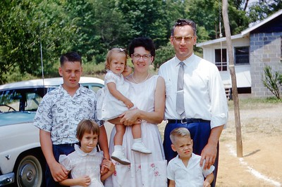 1960 - Harry Engeman Family