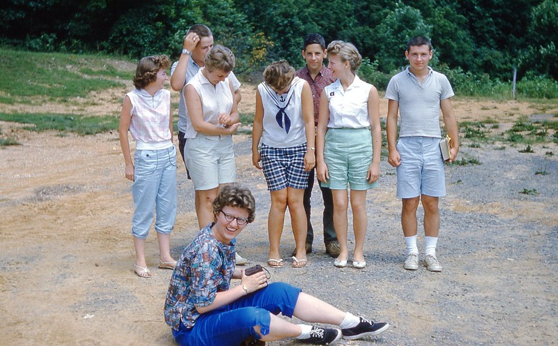 1960 - Counsellors Jr  Camp