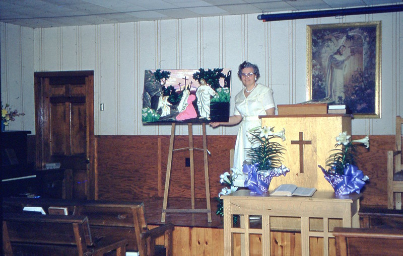 1961 - Winnie Giving Easter Flannelgraph - Mt  Washington