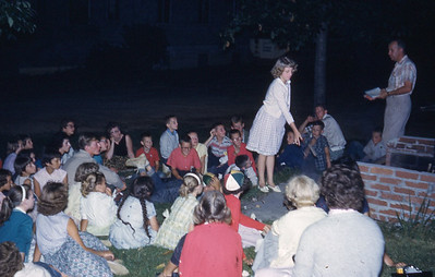 july 1961-''CAMPFIRE SERVICE FOR JUNIOR CAMPERS''