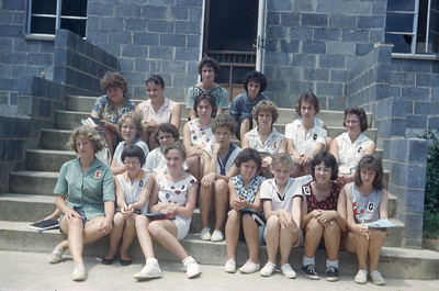 july 1961-''GIRLS CAMP''