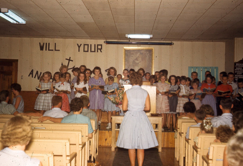 july 1961-''JUNIOR CAMP CHIOR''