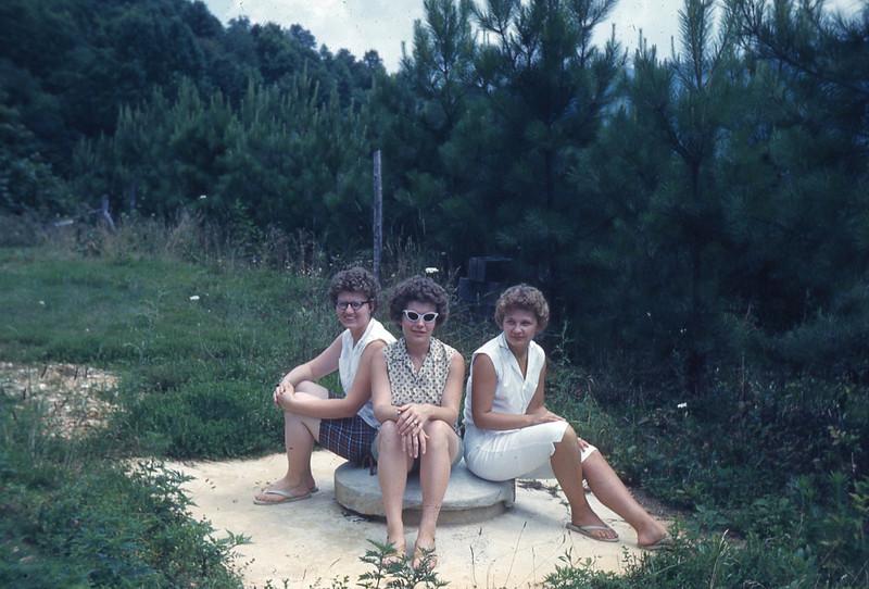 august 1961-''SANDY, CLARA AND MYRNA''