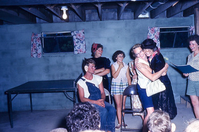 august 1961-''STUNTS AT BIBLE CAMP''