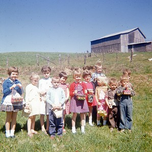 1962 - Easter Egg Hunt 1
