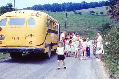1962 - Church Bus DVBS