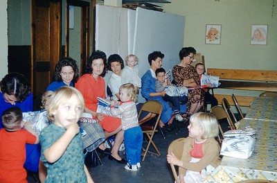 1963 - Cradle Roll Party