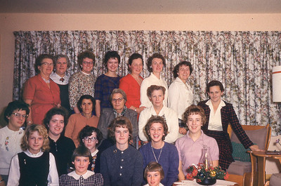 1963-''C W A  CHRISTMAS PARTY''