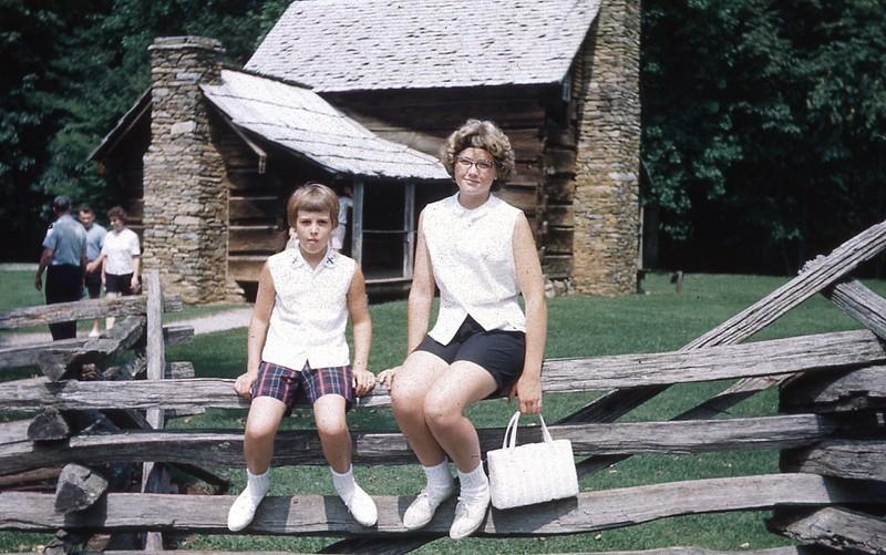 1964 - Marilyn & Sue in Smokies