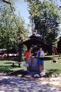 1964 - Outside Danish Tea Room Near Geneva