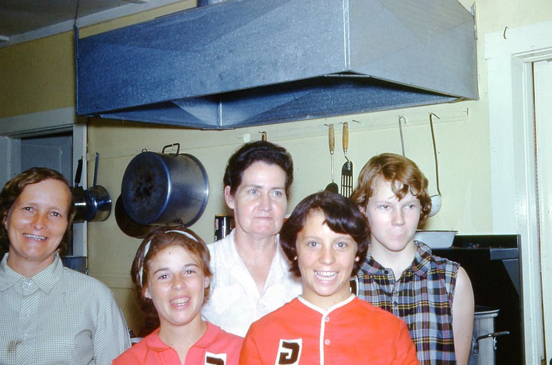 1966 - Camp Kitchen Crew