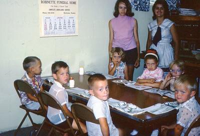 1966 - Beginners at Wallens Creek DVBS