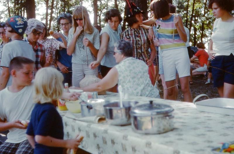 1966  - Camp Weiner Roast