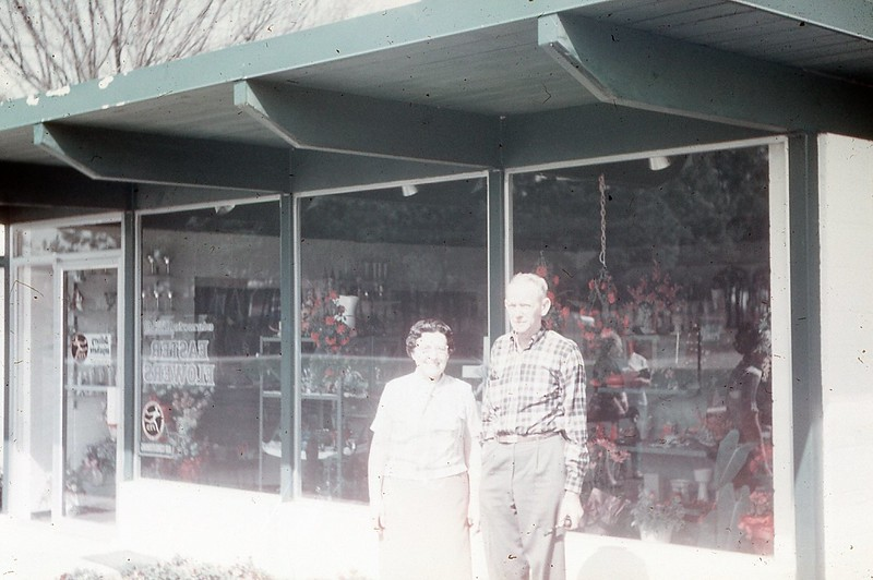 1966 - Margaret's Uncle & Aunt in S  Carolina