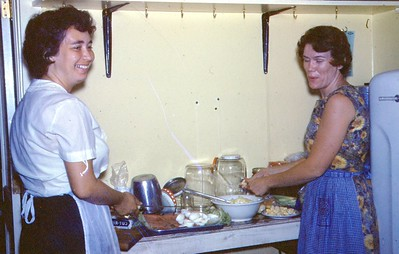 1966 - Cooking at Camp