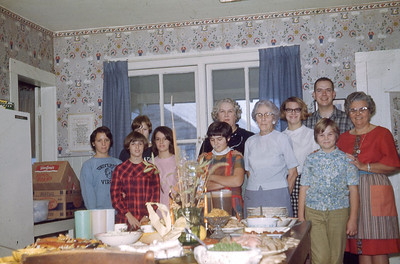 november 1967-''THANKSGIVING AT BETTY BANNER'S''