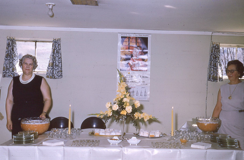 april 1967-''BETTY AND LILLIE AT OSA AND BATE'S 50TH ANNIVERSARY PARTY''