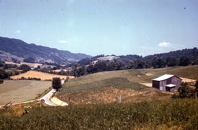 1968 - Wallens Creek Road by church