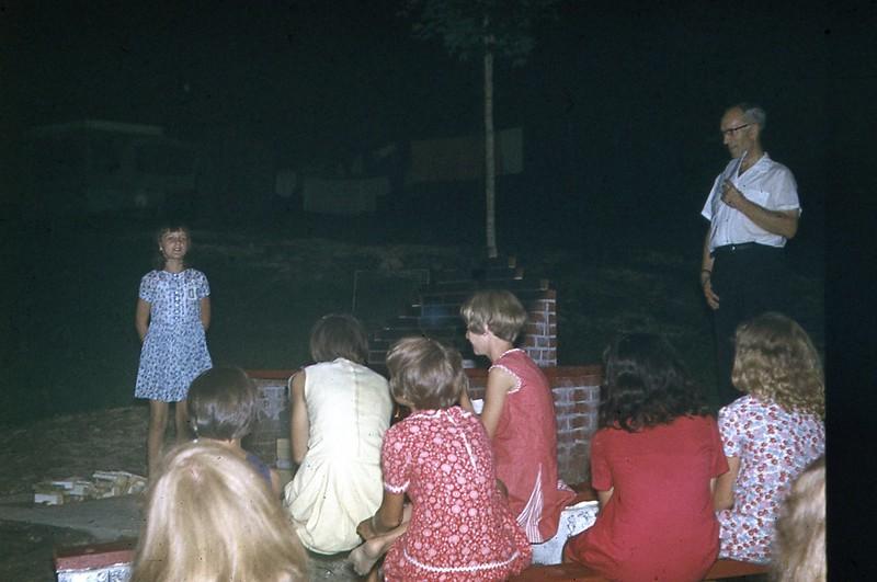 1969 - Campfire Service