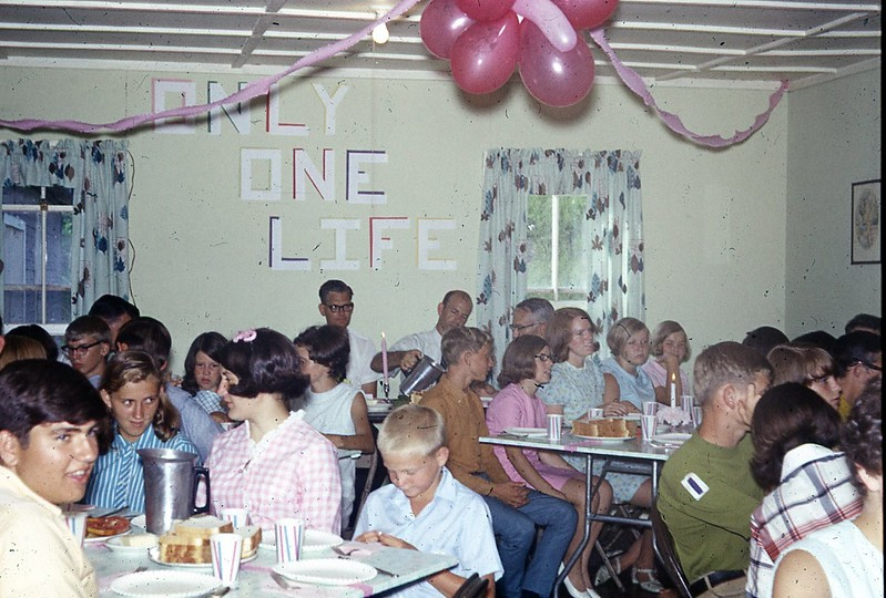 1969 - Banquet Senior Camp 1