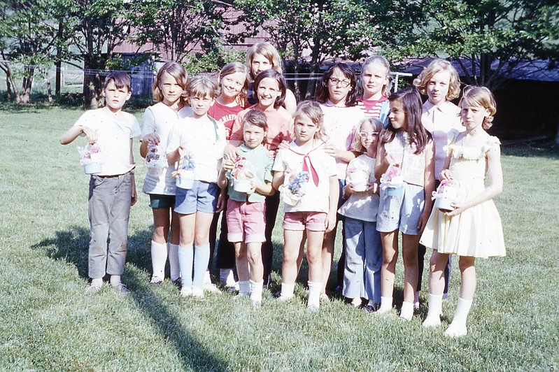 1970 Winnie Junior camp