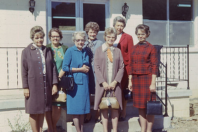 october 1970-''HOUSEGUESTS FOR DEDICATION FO NEW BUILDING; MT  WASHINGTON''
