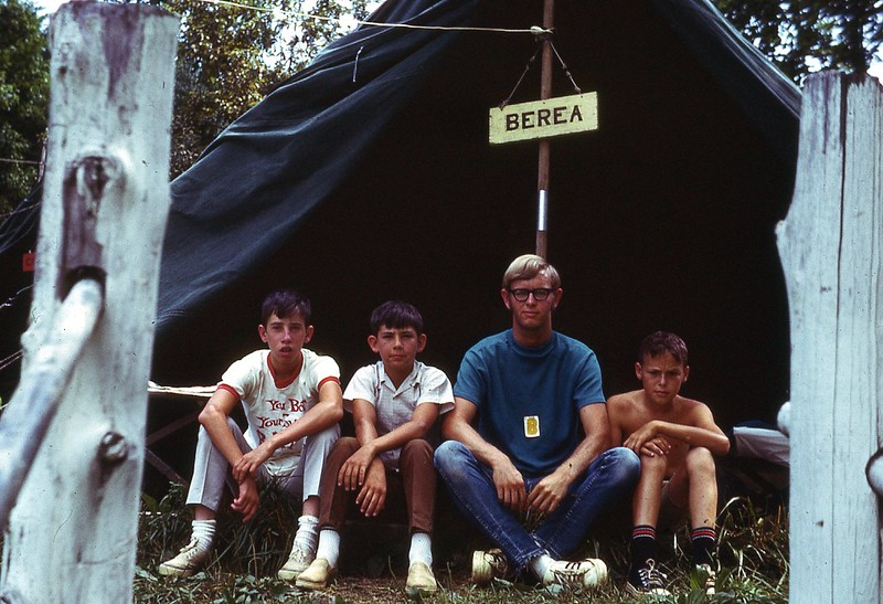 1970  WVS Berea boy campers