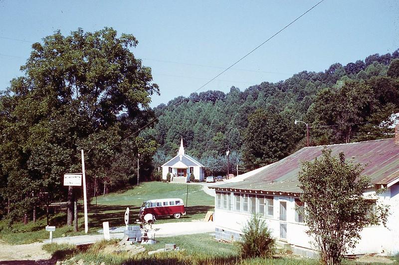 1970 Mt  Washington Center Church Bible Camp Winnie