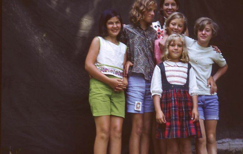 july 1970-''JUNIOR GIRL CAMPERS''