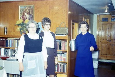 1970 Ladies who served at Valentine Banquet