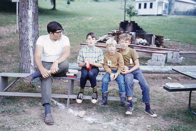 july 1970-''BOYS JUNIOR CAMPERS''
