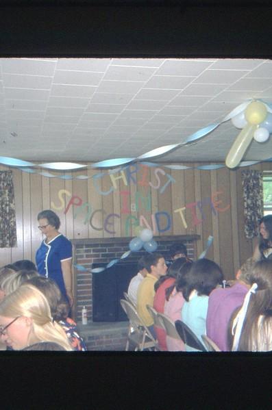 1971 Camp banquet