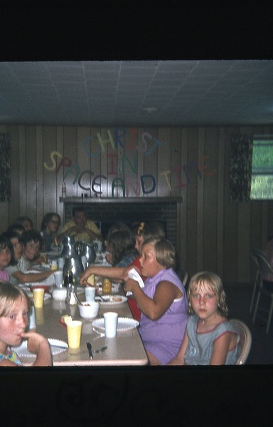 1971 Meal time Junior camp