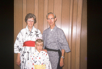 july 1971-''METCALF FAMILY SPEAKING TO CAMP ABOUT MISSIONARY TRIP TO JAPAN''