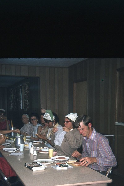 1971 camp mealtime