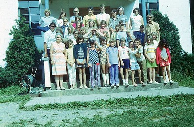 1972 Junior campers and counselors