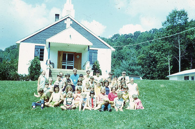 1970-''CAMPERS AT MT  WASHINGTON CHURCH''