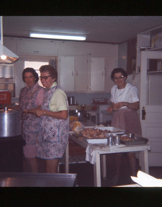 1972-''CAMP STAFF PREPARING A MEAL''