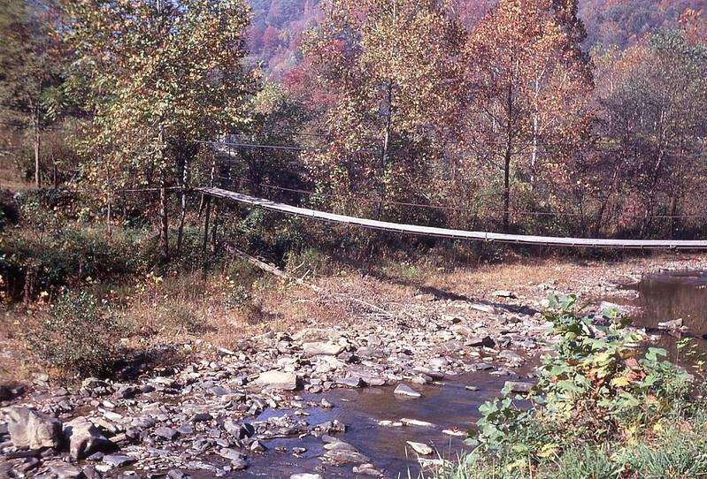 1972 WVS Foot bridge