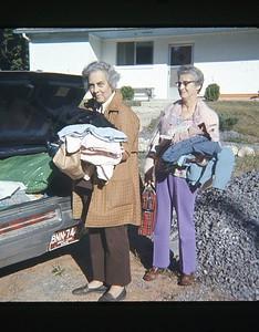 1973 - Edith & Florence
