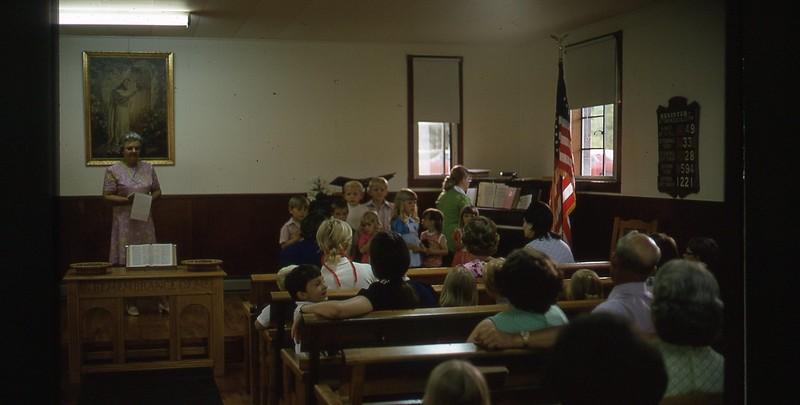 1974 Inside Church WVS