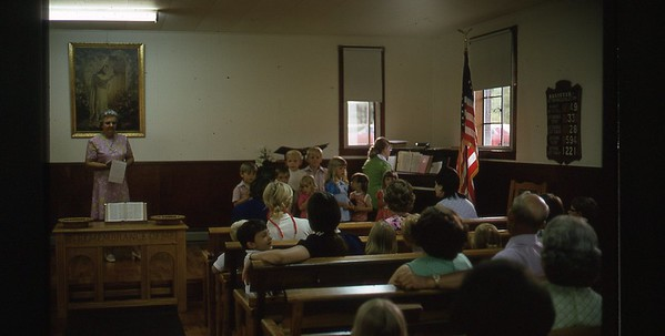1974 Inside Church WVS